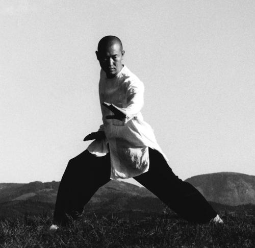 Meister Don Yon:   Öffne deinen Geist  , bewege Dich mit voller Kreisenergie   Wenn du in alle Richtungen geöffnet bist, ist überall Einheit  .