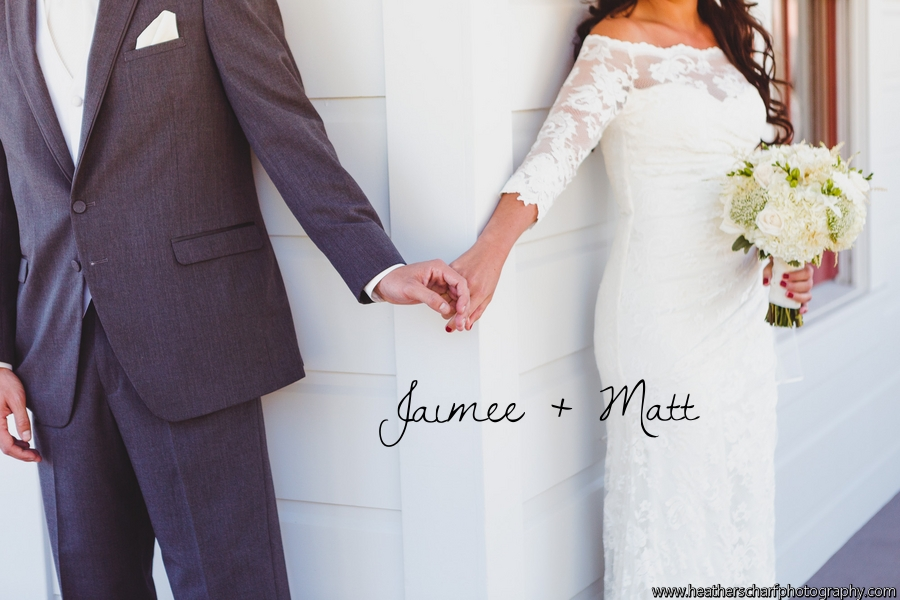 Real Wedding: Jaimee + Matt