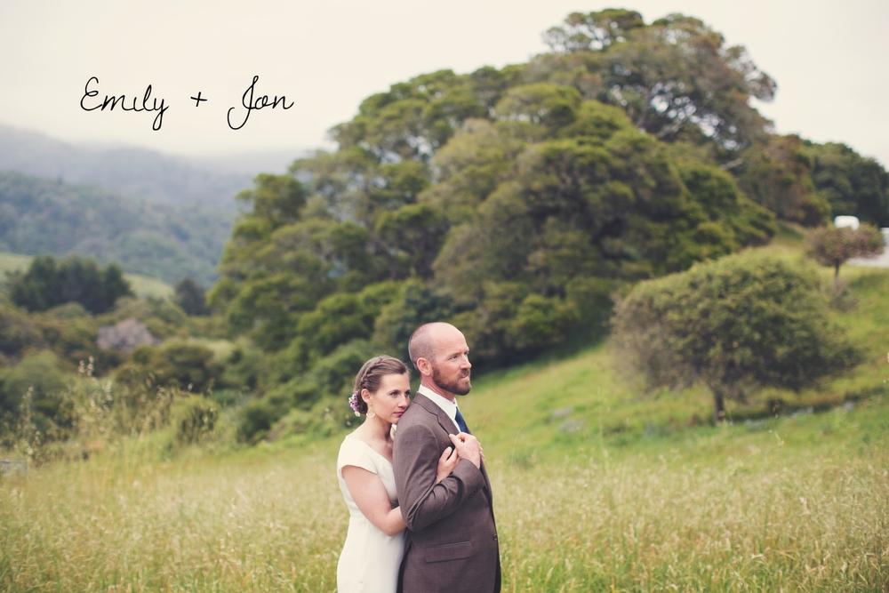 Real Wedding: Emily + Jon