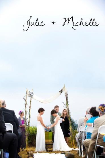 Real Wedding: Julie + Michelle
