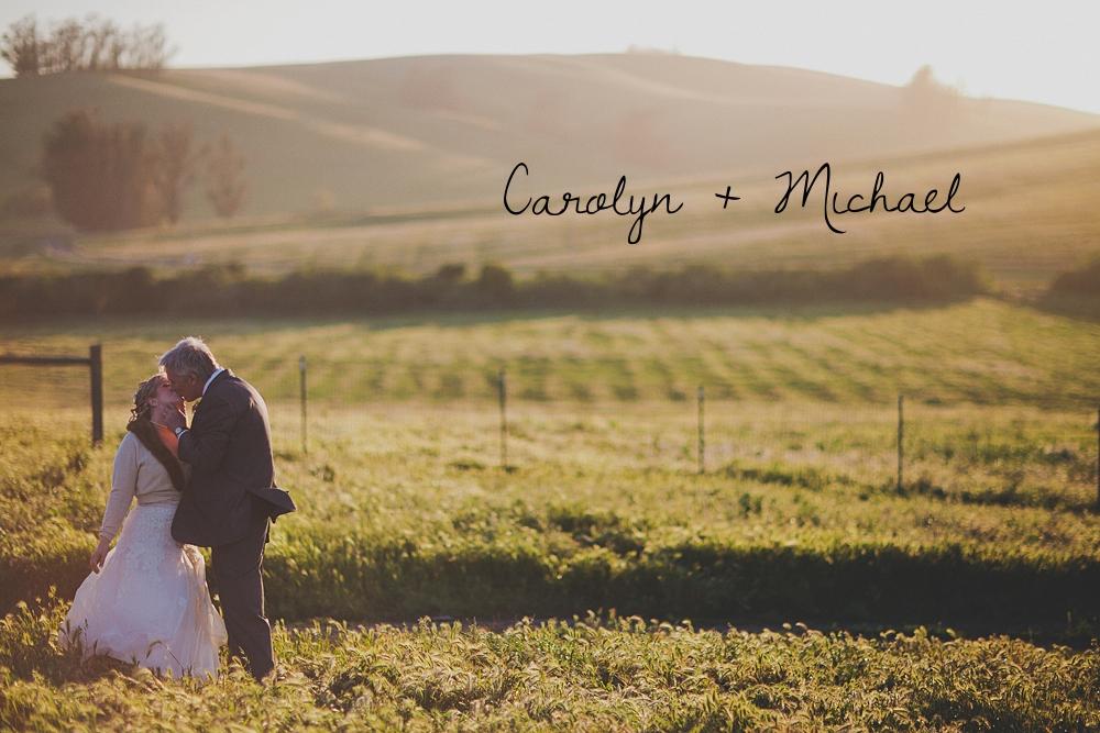 Real Wedding: Carolyn + Michael
