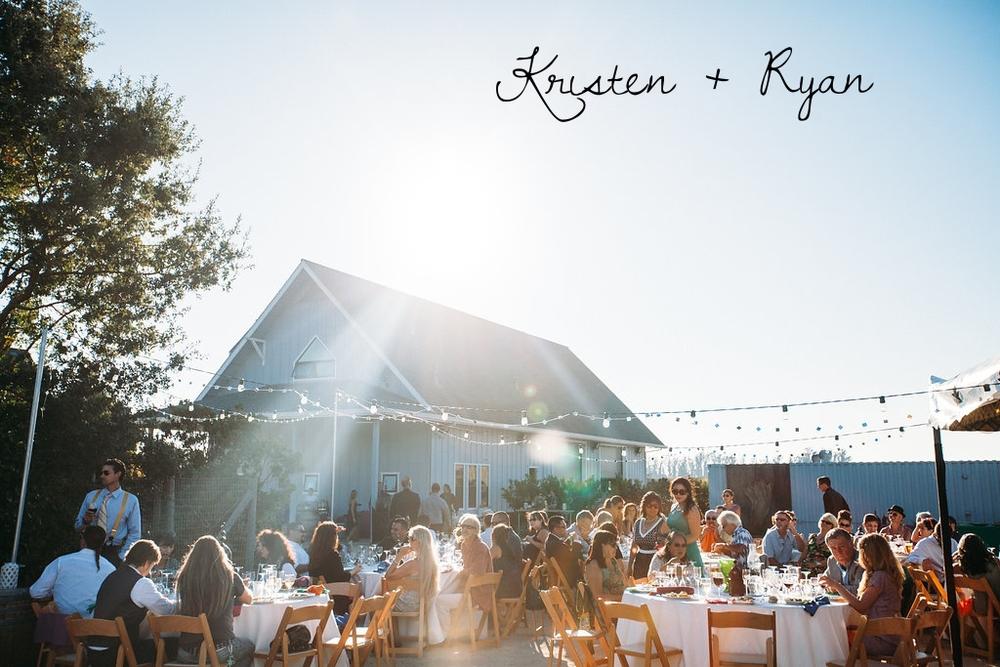 Real Wedding: Kristen + Ryan
