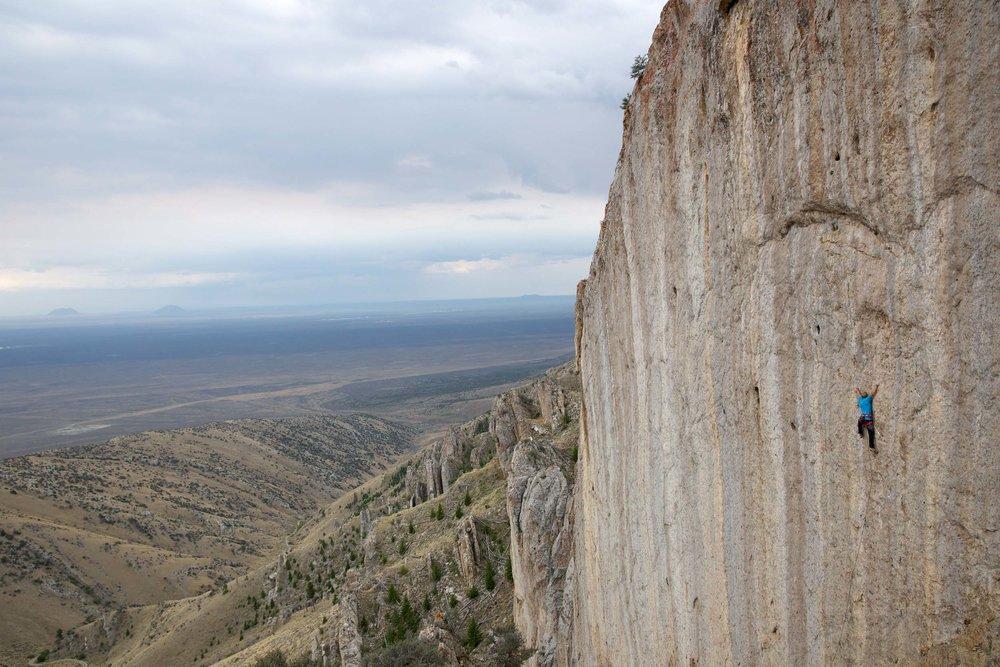 Sport Climbing Idaho Fins