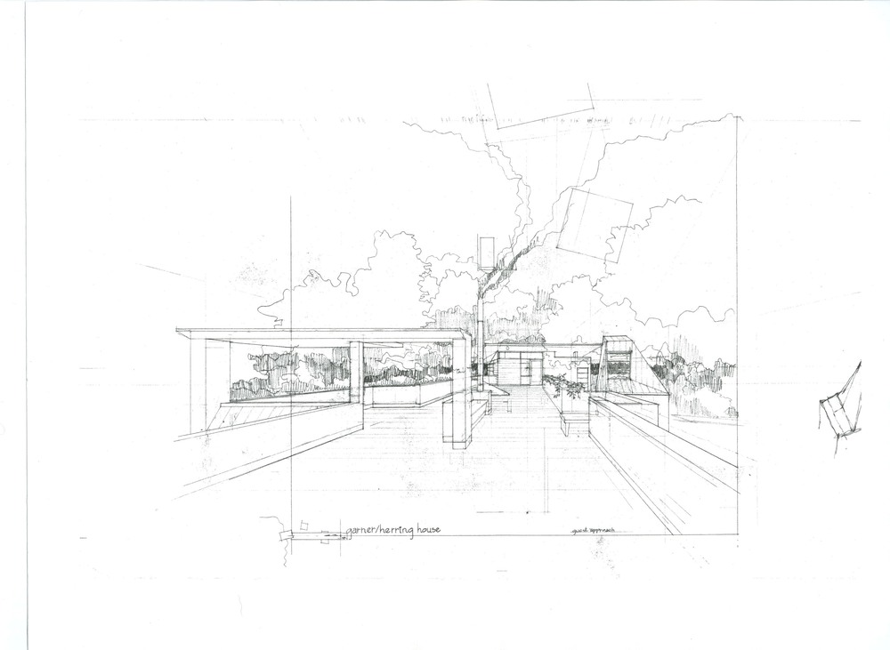 Garner Herring House Concept Sketch