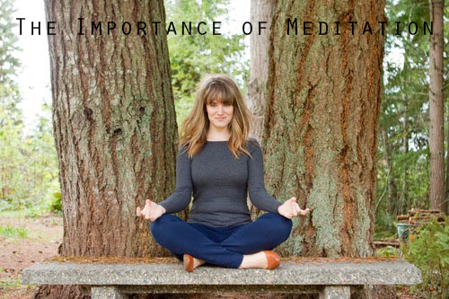 Meditations importance in holistic health and wellness.