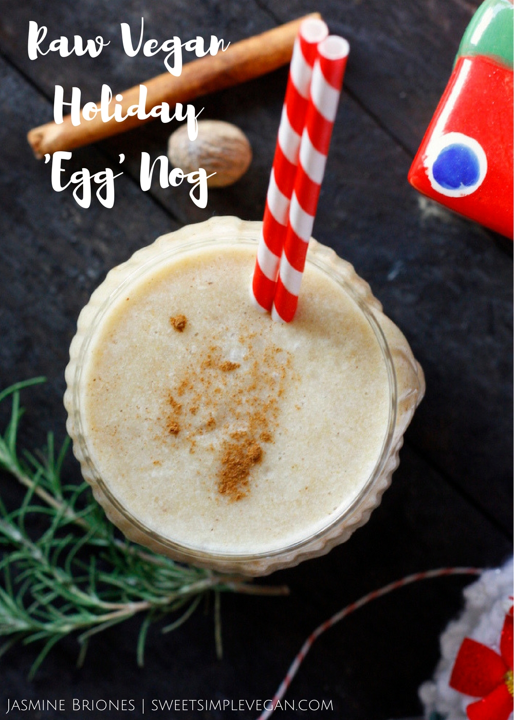 The best plant based egg nog recipe!