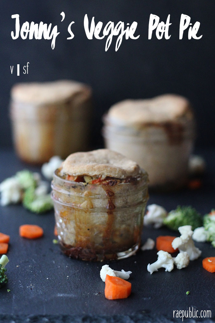 Amazing plant based pot pie full of all the best veggies