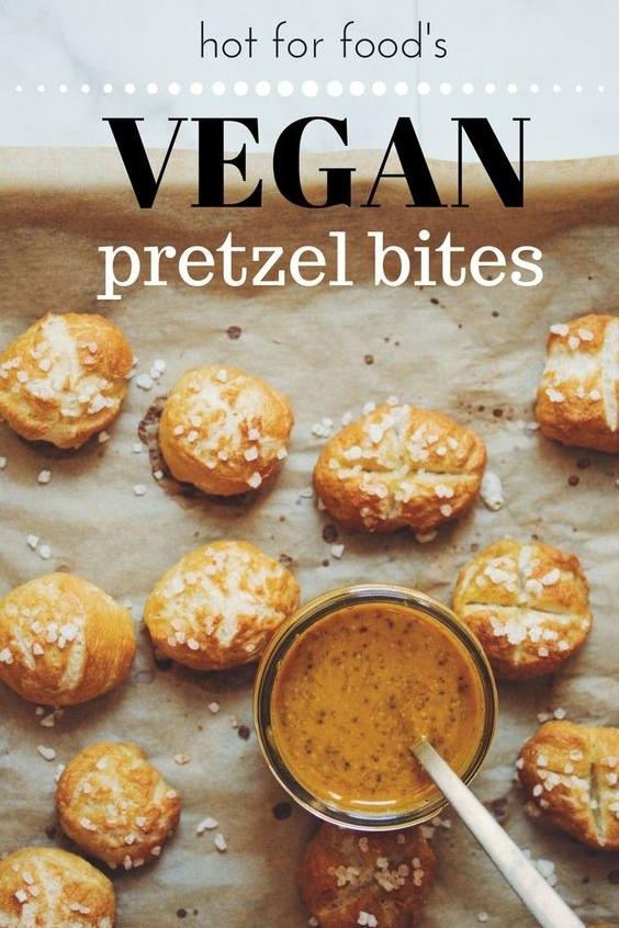 Amazing vegan PRETZEL bites!