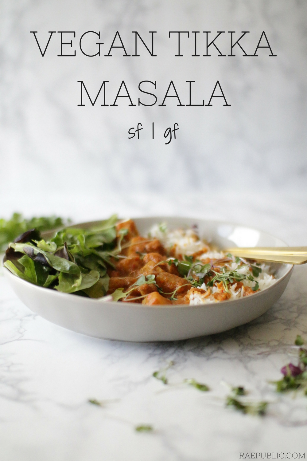 Easy vegan tikka masala made without the chicken obviously. This plant based Indian dish is so good you might not be able to stop yourself.