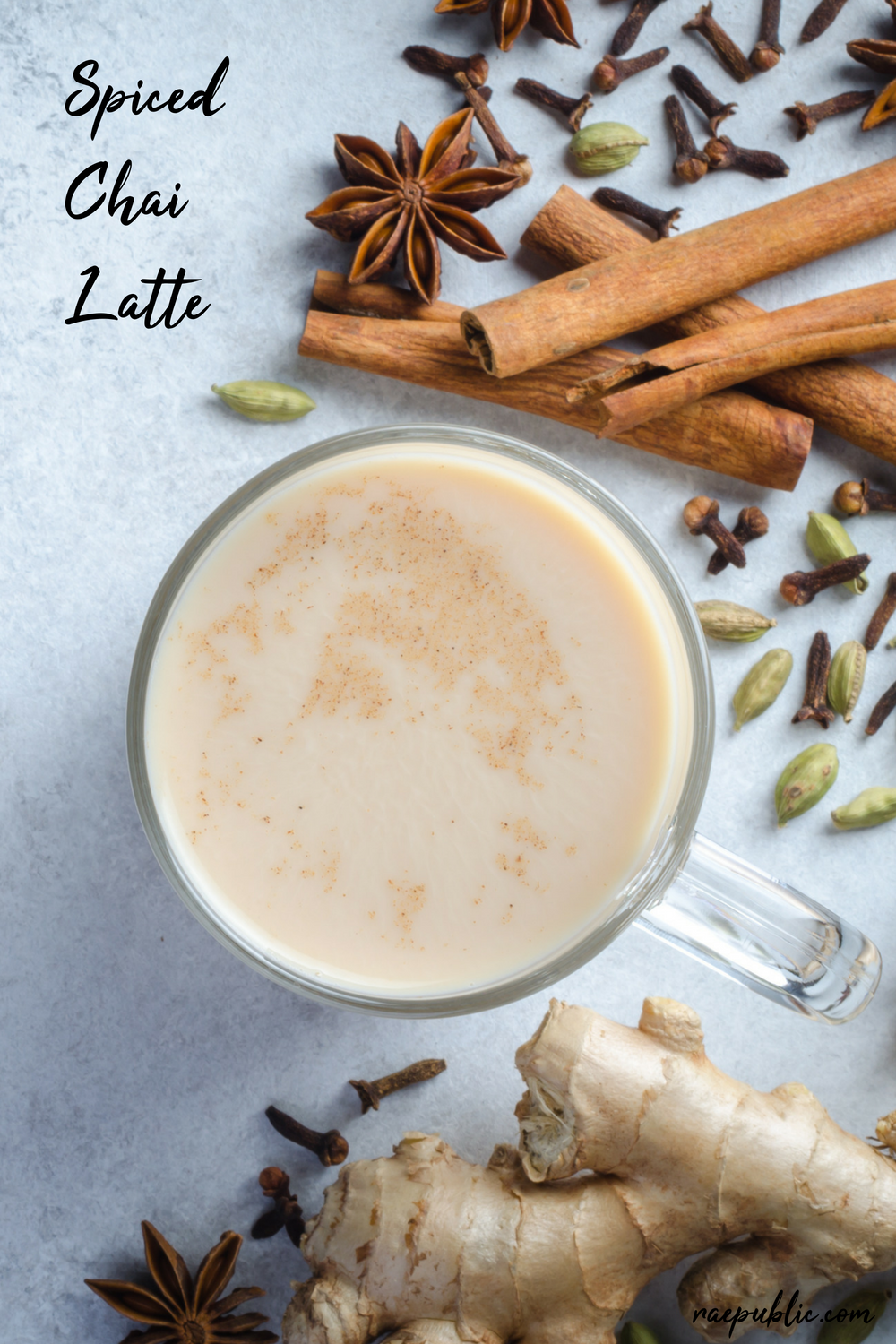 Easy vegan spiced chai tea latte that just might be good enough to replace your morning coffee baby!