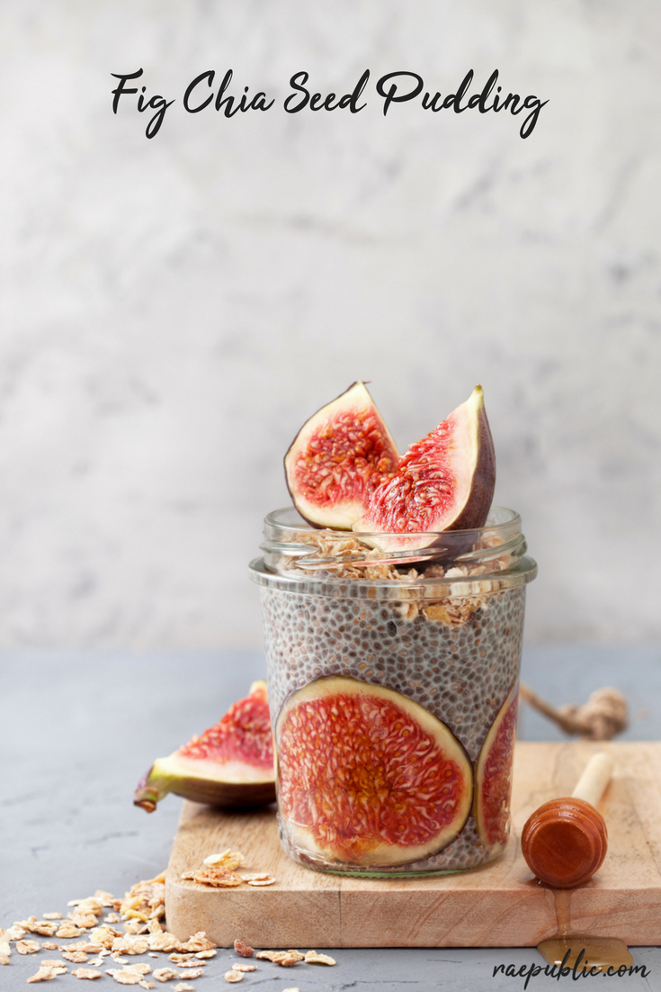Easy, fig chia seed vegan pudding that is seriously delicious.