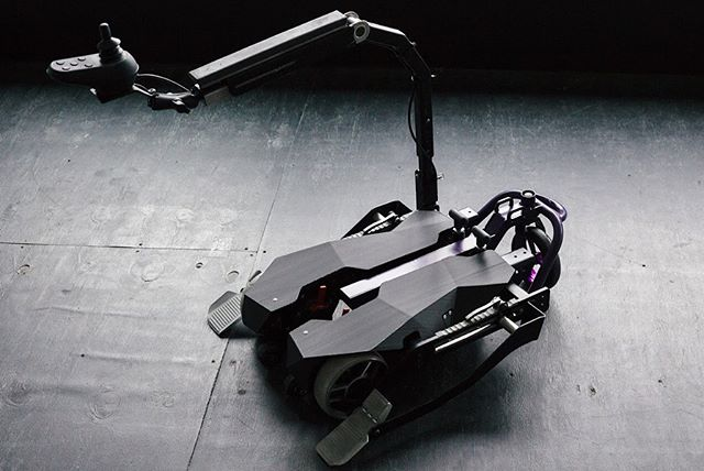 The Indiego, a collaboration of industry and design. Turn any manual wheelchair instantly into an electric wheelchair. Designed by 10XBeta for The Center For Discovery.