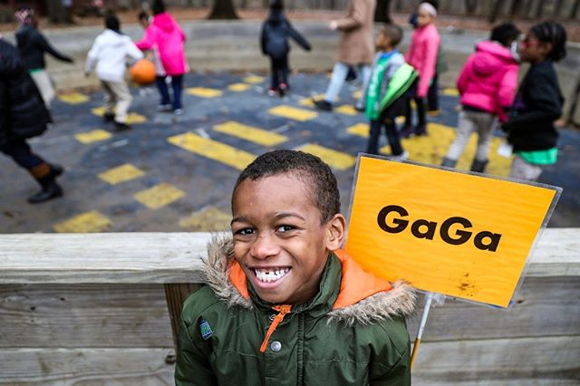 Bre'Shaun Hutcherson, a second grader from Global Preparatory Academy, poses for a picture while playing a game of Gaga at Jameson Camp in Indianapolis. Field trip outings and summer camps aim to build children's confidence and interpersonal skills while immersing them in nature. Summer camp tuition ranges from $80 to $500 and is based on a family's income. (Follow the photographer  @jennajulyaugust)