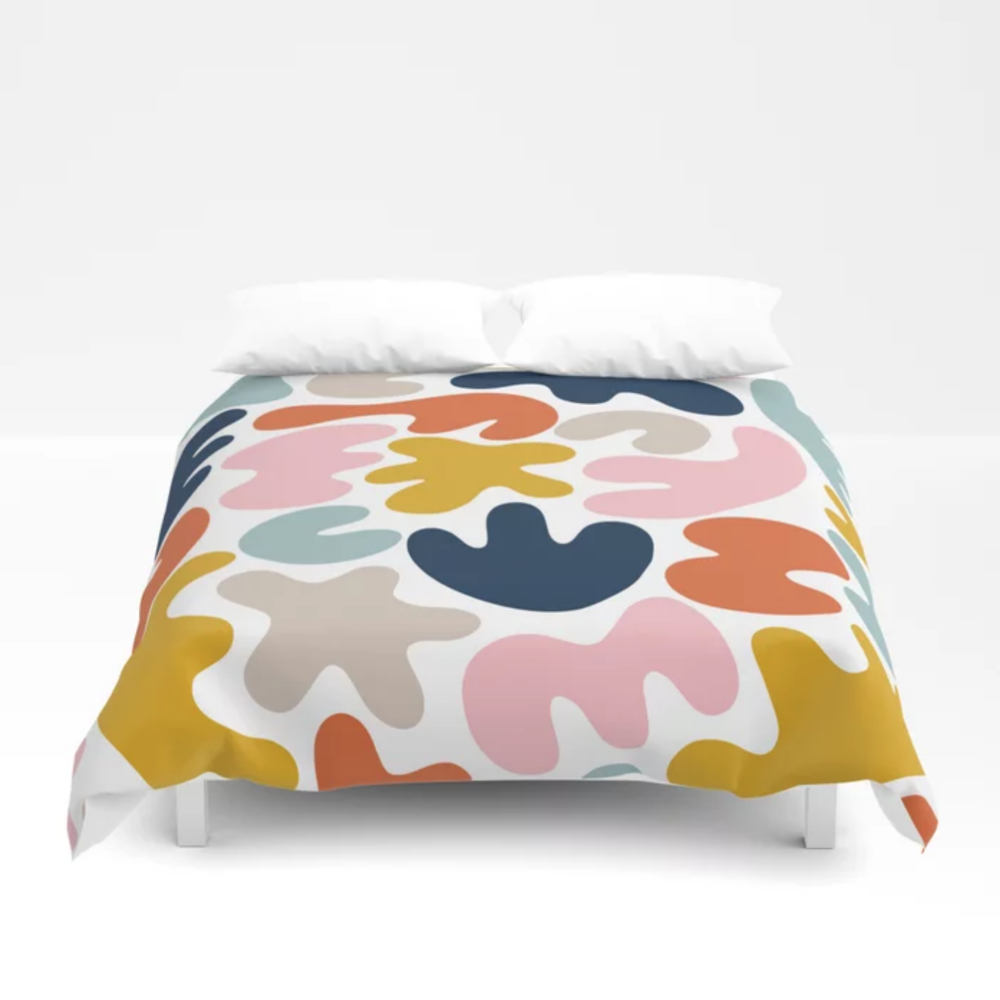 Blob Collage Multi Duvet