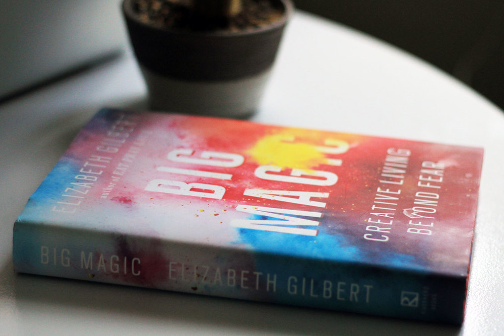 Big Magic Review Liz Gilbert | Pushing Beauty Michelle D'Avella Breathwork | Perfectionism is Bullshit