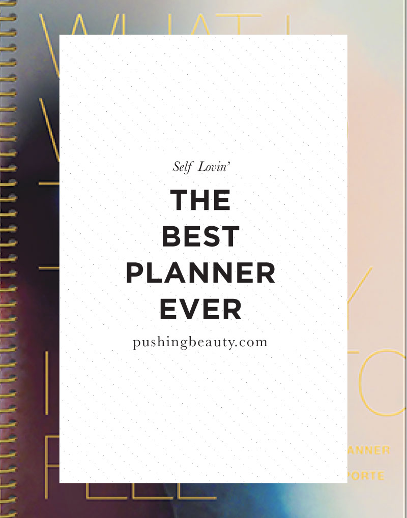 The Desire Map Planner | Pushing Beauty