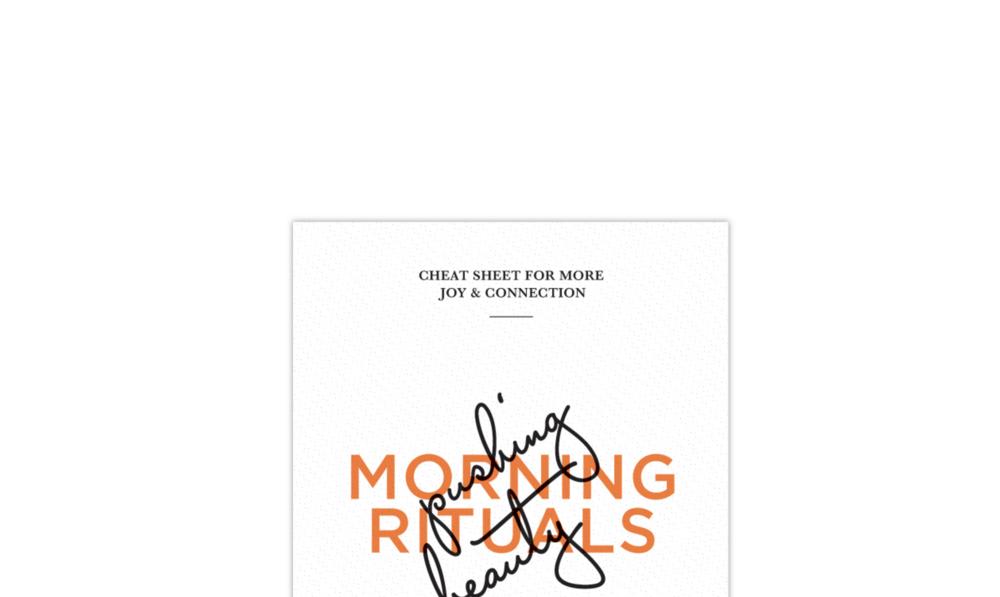 Morning routine | Pushing Beauty