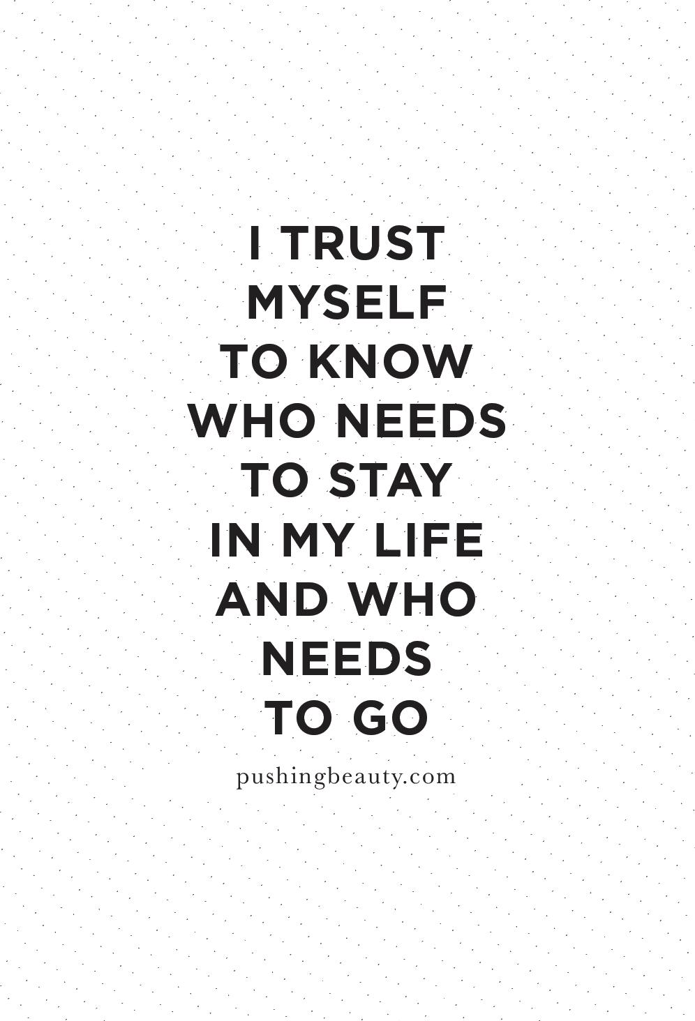 trust myself quotes
