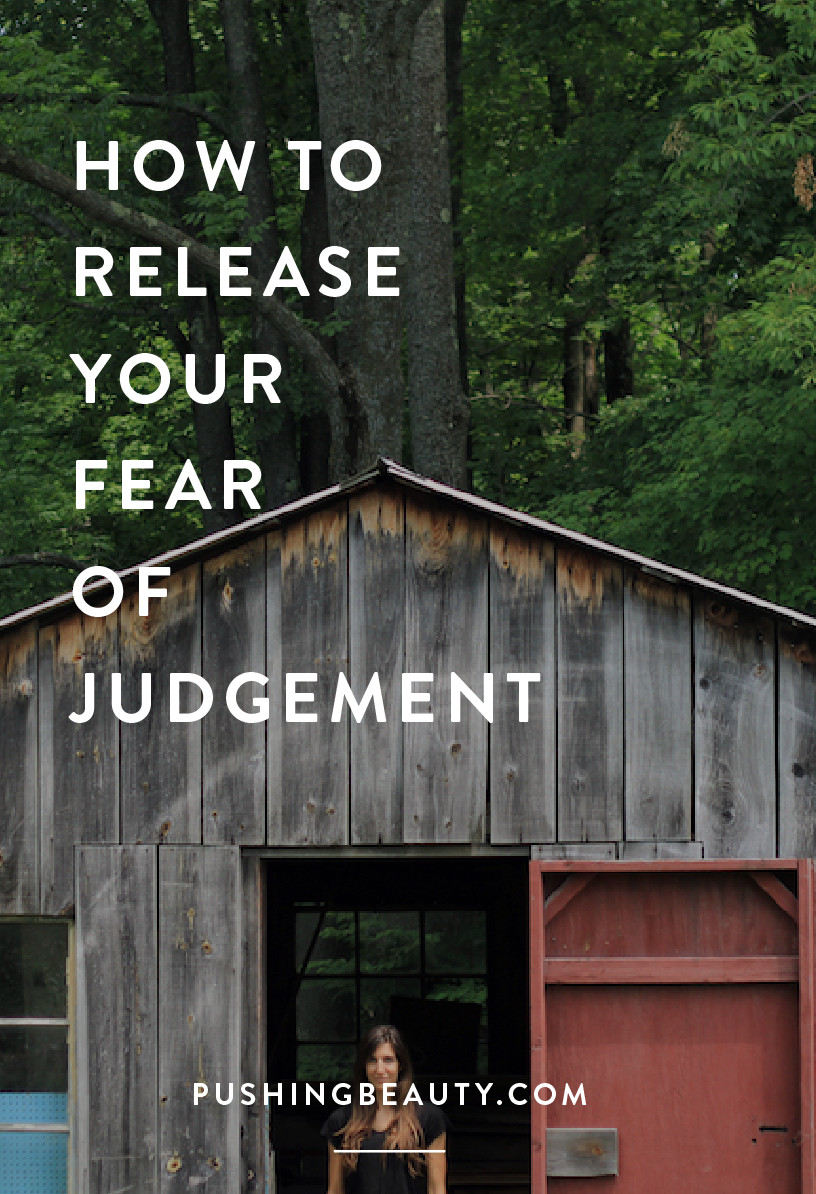 Fear of Judgement