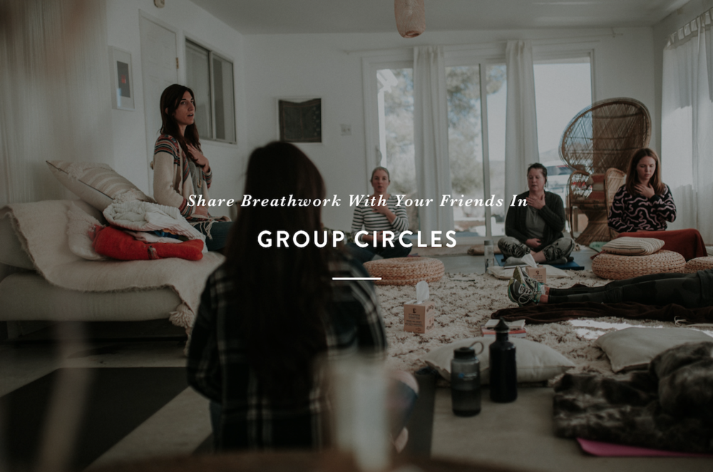 Group Breathwork Circles