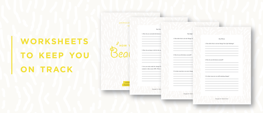 How To Feel Beautiful Worksheet