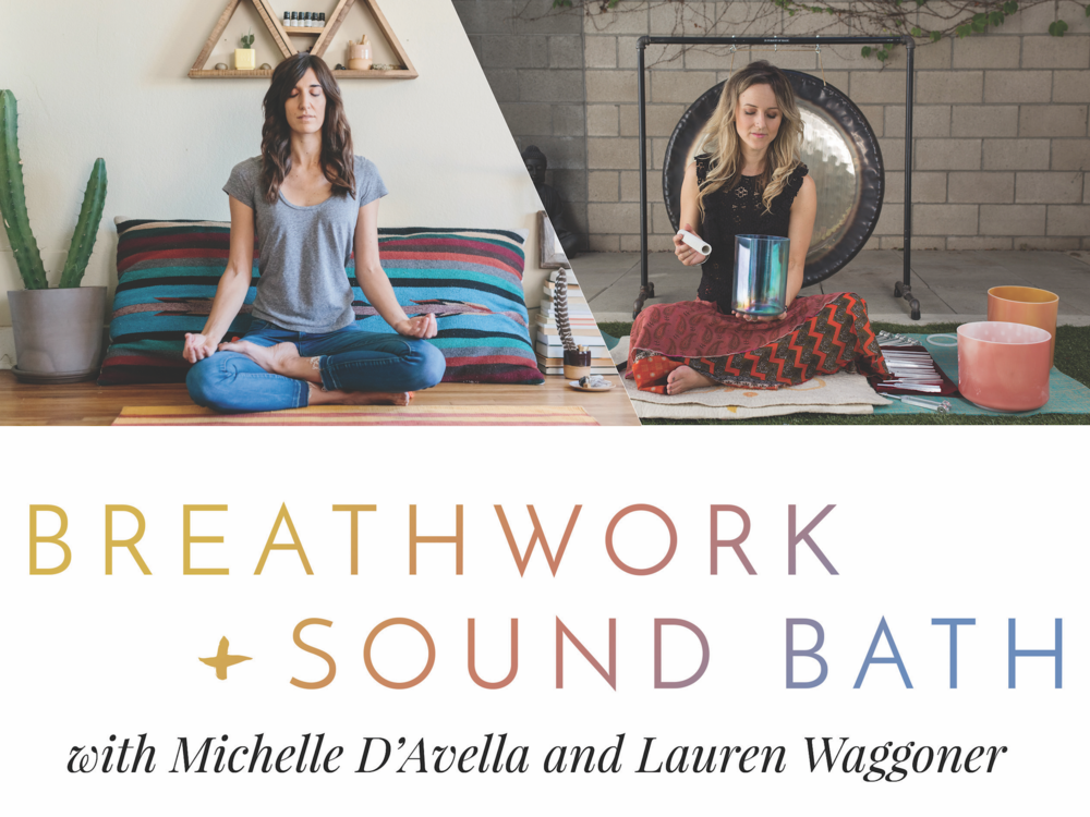 Breathwork + Sound Bath Los Angeles