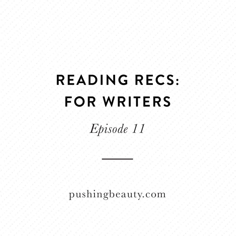 Reading Recs Pushing Beauty Podcast