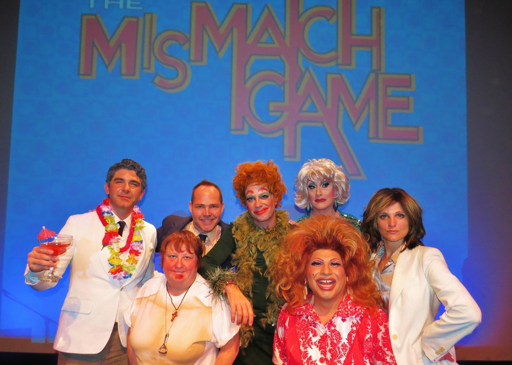Felix Pire as Ricardo Montalban, Maile Flanagan as Donny Bonaduce, Sam Pancake as Lucy, Jackie Beat as Bea Arthur, Danny Casillas as Reba Ariba and Nicol Paone as Arianna Huffington