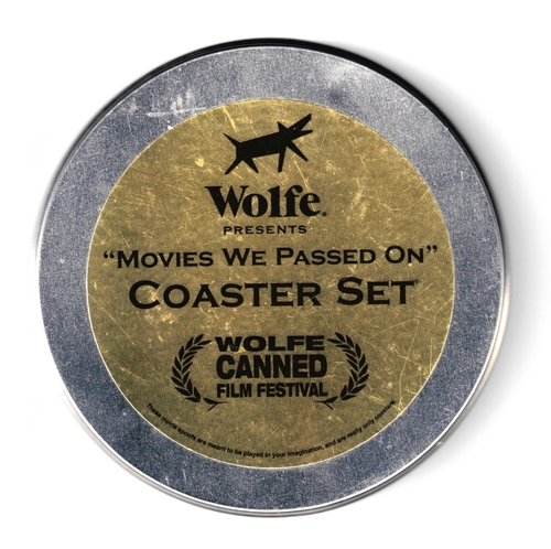 WOLFE VIDEO PROMO COASTERS