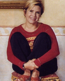 Carrie Fisher 2003
