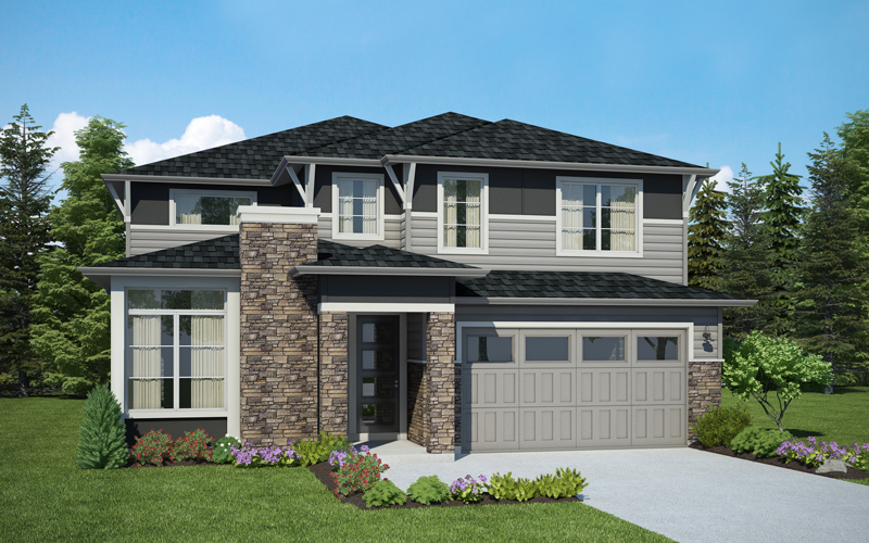 Lot 1 / THE DEPALMA / 447-2A 939,990 4 Bdrms, 3.5 Baths, Guest Suite, Den, Open Bonus / 3,312 sq ft / framing