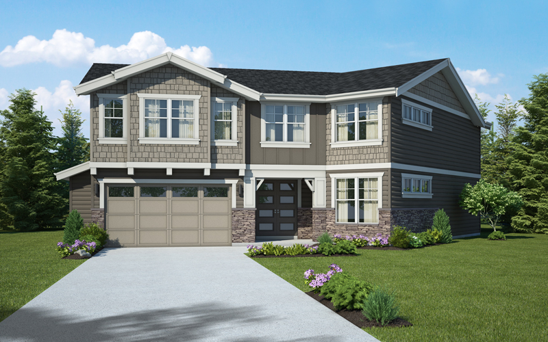 Lot 9 / THE ODETTE / 478-2D 1,359,990 4 Bdrm, 3 Bath, Great Rm, Living, Dining, Den/Guest, Bonus / 3,480 sq ft / framing