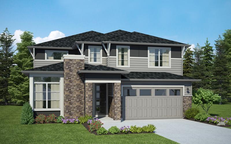Lot 8 / THE DEPALMA / 447-2A 959,990 4 Bdrms, 3.5 Baths, Guest Suite, Den, Open Bonus / 3,312 sq ft /framing
