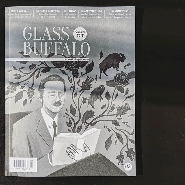 Thank you to everyone who joined us for the launch of our Summer 2018 issue last night at @yellowheadbrewery!  This beautiful, perfect-bound issue features most of the award-winning pieces from @ualberta's Salter Tea Awards and @clcualberta'a Poetry Contest winner!  Once you're done being mesmerized by the gorgeous cover illustration of F.M. Salter by @heyemilychu, you'll want to flip it open for new writing from @beehubes, @scottjackshaw, @gavin_446, @austenlee_, @katherinephopkins & more!