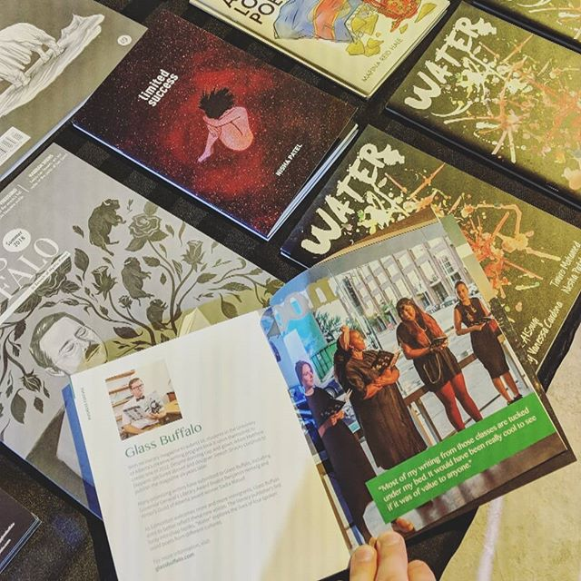 We're honoured to be featured in the 2018 Gifted @edmontonmade Gift Catalogue with our chapbook, WATER, by the incredible poets @saralsouqi, @timiromohamed, @ladragonalady & @anothernisha!  Visit edmontonmade.com to shop the catalogue online or stop by Oliver Exchange today to shop it in person til 4 pm!