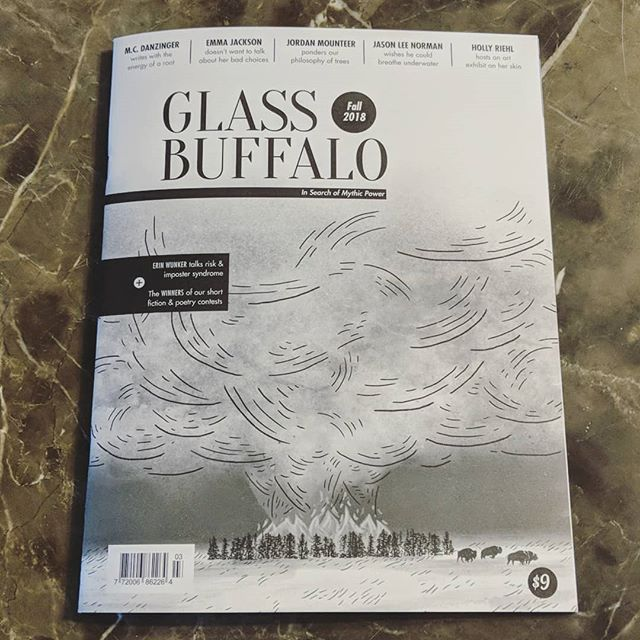 Arriving in mailboxes soon: our Fall 2018 issue, which contains the winners of our Short Fiction & Poetry Prizes, stunning illustrations from @michellecamposcastillo & an interview with @erinwunker!  Order a copy online or pick it up soon at a local bookshop for new writing from @bellyofawhale, @alexallenandalva, @jasonvpurcell, @kateblack, @gentlebenjamin, @mparocks & more!