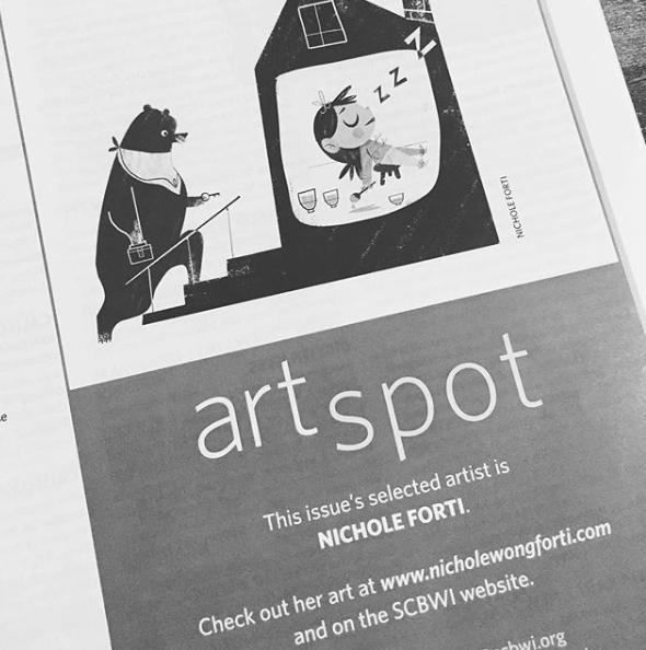 SCBWI: ART SPOT