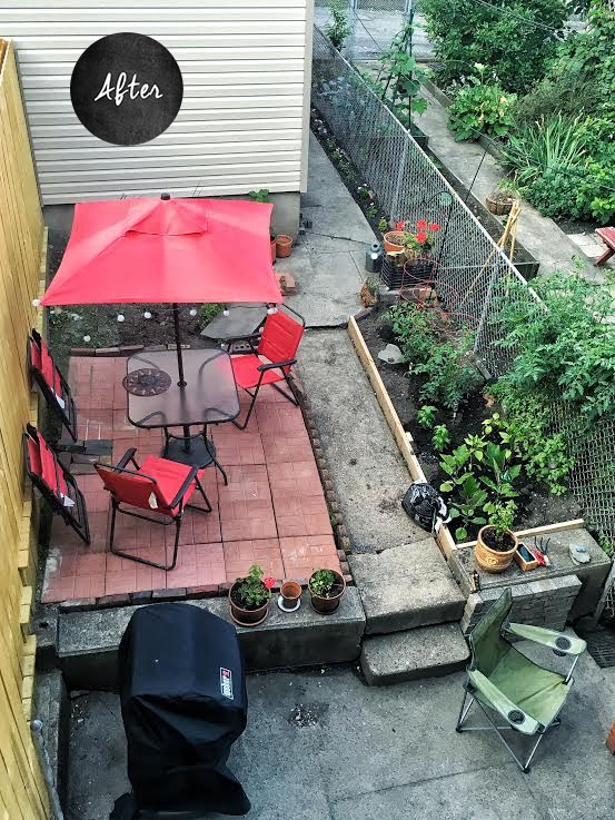 After: Backyard and Garden