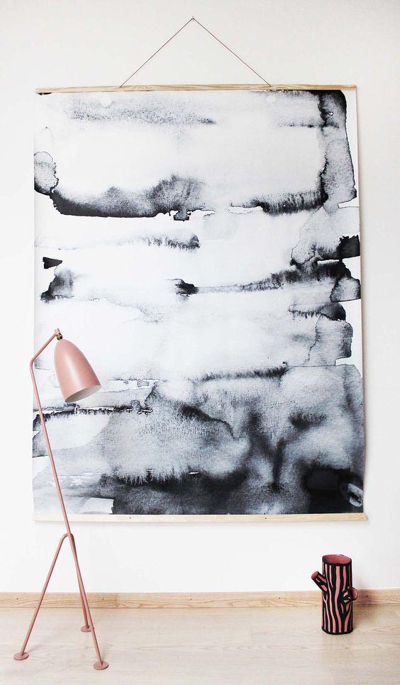 Wall hanging #3000 Grey
