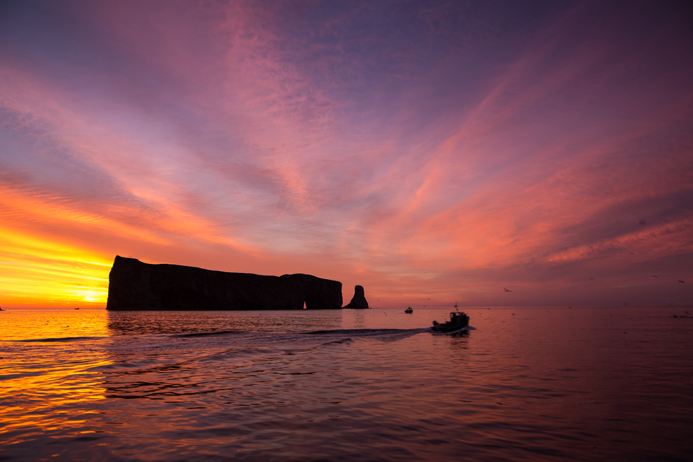 The Rocher Percé in all its morning beauty, want to know How I Got the Shot?