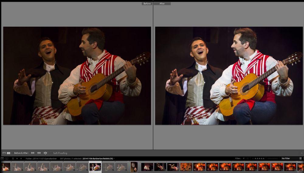 Avant et après avec Lightroom 5. Si suffisamment de personnes se manifestent, je peux donner des détails par rapport à mon workflow numérique de post-traitement.