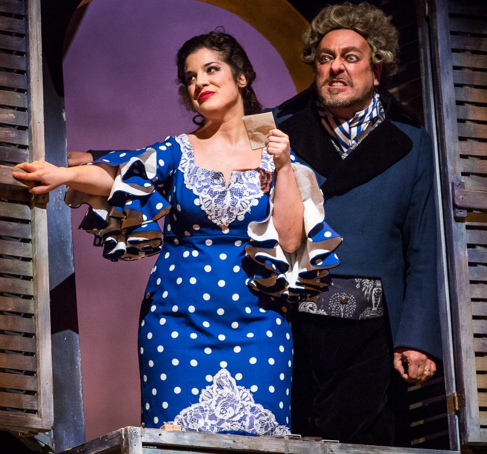 Rosina et le sinistre docteur Bartolo!