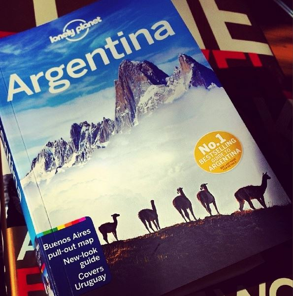 Lonely Planet, always a very impressive image