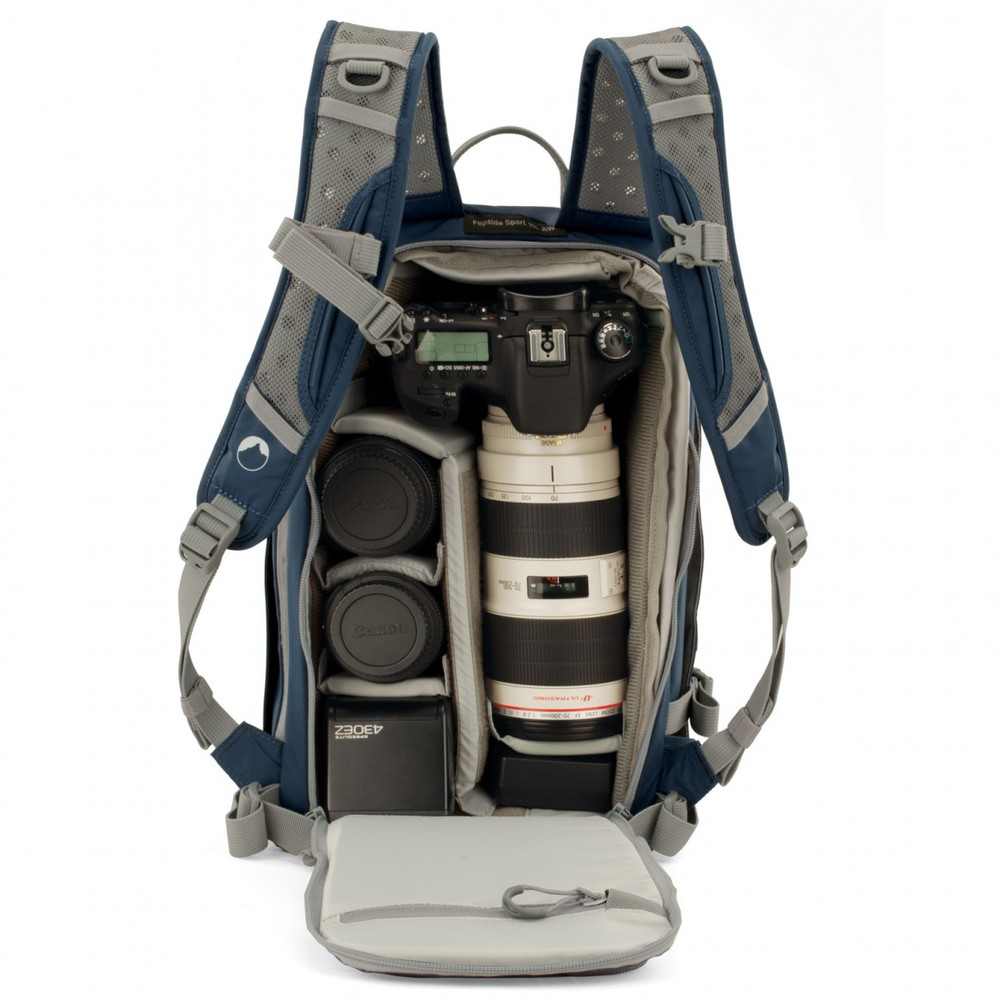 Small photo backpack for daily use