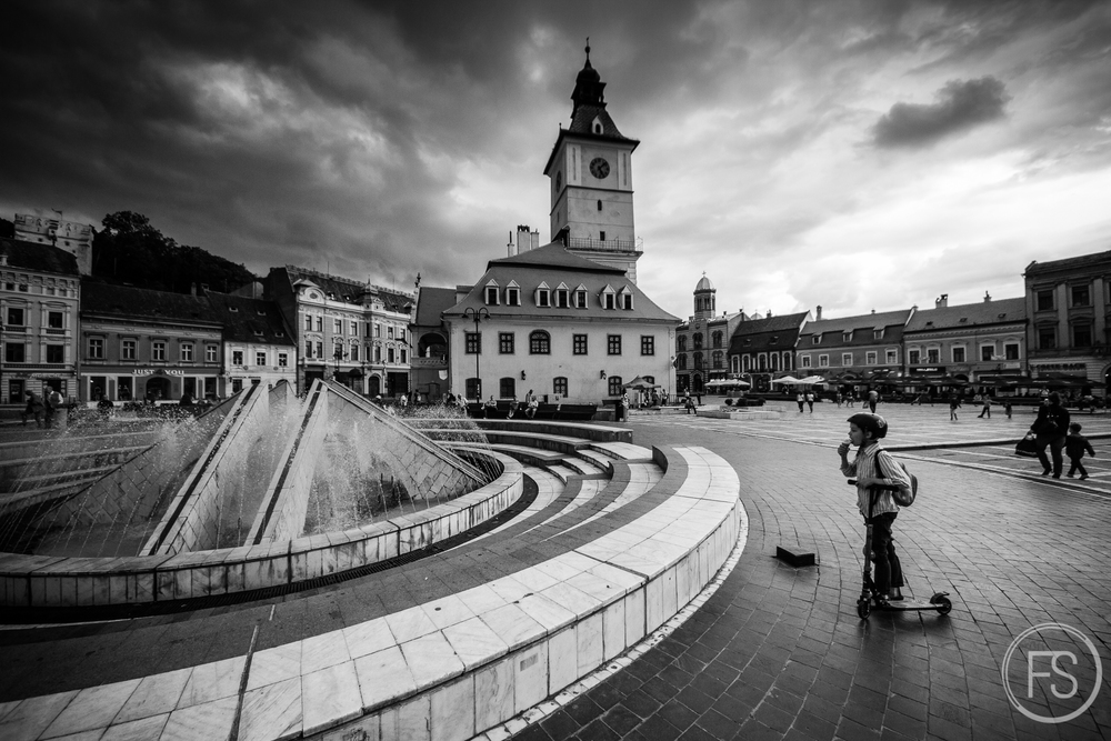 Very pretty Town Square, plenty of photo opportunities!