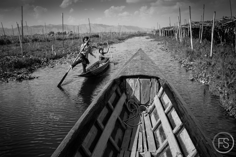 Inle Lake in Myanymar
