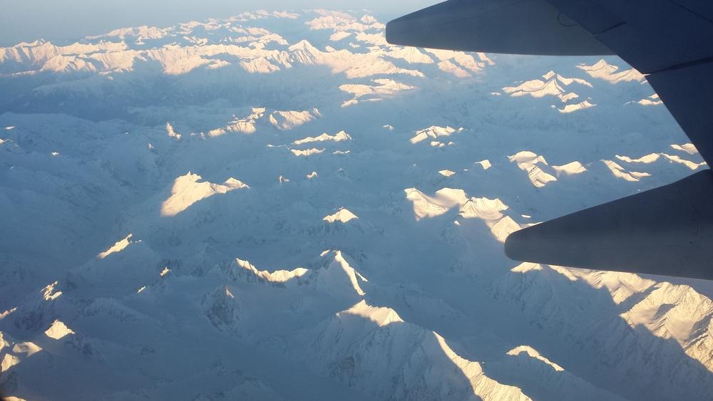 Most beautiful flight of my life!