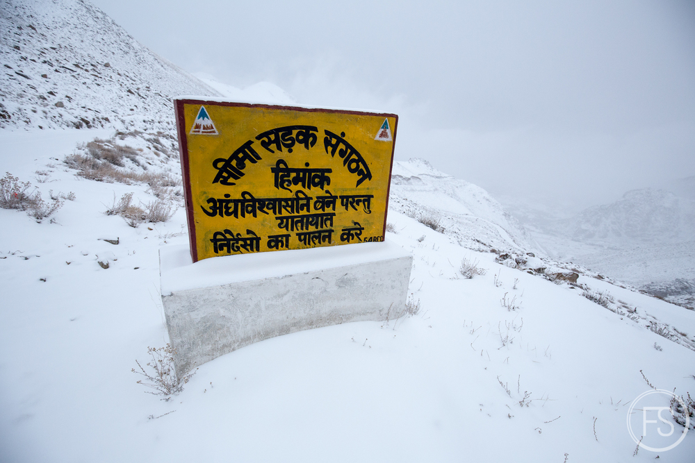 I think it means we are at a very high altitude.