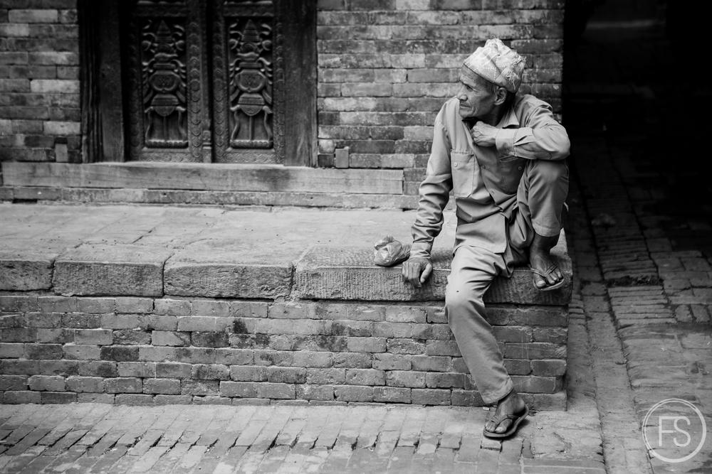 Première visite à Bakhtapur avant la tragédie.