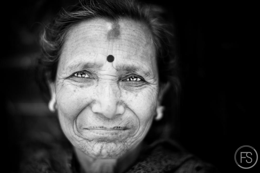 Portrait non retenu de Bakhtapur.